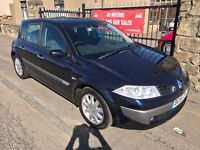 (56) RENAULT MEGANE 1.5 DCI, 47000 MILES, SERVICE HISTORY, WARRANTY, NOT 307 ASTRA FOCUS GOLF