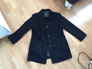 Beautiful black dress coat in good condition
