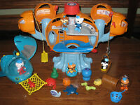 Octonauts Station,Gup-A Mission Vehical and extras