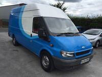 04 ford transit duratorq 2.4tdi 90ps t350 HR LWB JUMBO leather 12m parts and labour