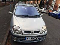 Cheap 2001 Renault Megane Scenic 1.6L Auto Car For Sale Mot-06-2017 LONG MOT Bargain £589 ONO