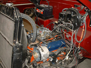 1968 Fresh 275 HP Chev 327 engine/trans and 10 bolt diff.