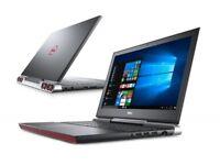 "Dell Inspiron 15 7567 15.6"" FHD Intel i5/8GB/256G SSD GTX 1050Ti Gaming Laptop"