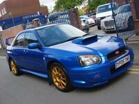 2005 05 PLATE Subaru Impreza 2.0 WRX STI Type UK in WR Blue