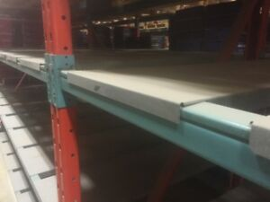 REDI-RACK PAN SHELVES FOR PALLET RACKING - 42 INCH GALVANIZED