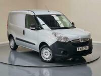 2017 Vauxhall Combo 1.4 2000 16v Panel Van L1 H1 (s/s) 3dr (EU6) Panel Van Petro