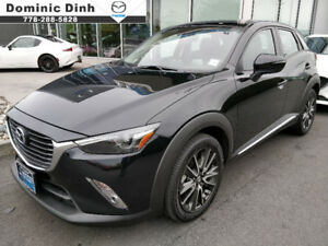 2016 Mazda CX3 CX-3 GT AWD **ONLY 18,001KM!* NO ACCIDENTS*CPO**