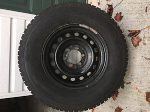 winter Toyota tacoma tires and rims