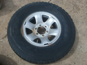 Toyota Prado steel 6 stud rim with tyre 275/70R16 Greenwith Tea Tree Gully Area Preview