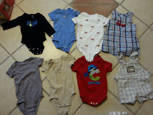 assorted clothing 9 months