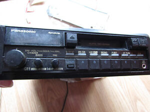 Car Radio/Cassetteplayer by Panasonic with Manual
