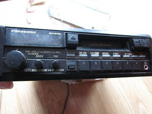 Car Radio/Cassetteplayer by Panasonic with Manual Strathcona County Edmonton Area image 1
