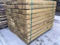 🌲Feather Edge Pressure Treated Fencing Panels/ Boards/ Pieces > Various Sizes Available