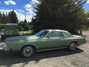 1977 Chrysler Cordoba One Owner Survivor