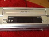 JVC VHS video player and recorder