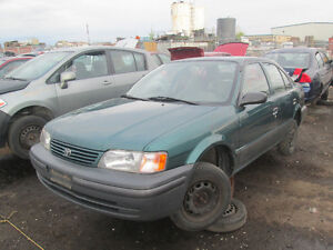 1998 toyota tercel - Available at Kenny U-Pull Ottawa