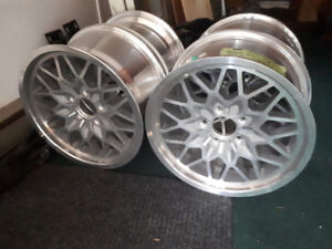 17x9 Yearone Snowflake Wheels - Firebird Trans Am