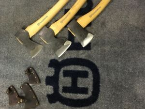 Hand Forged Swedish Axes by Husqvarna