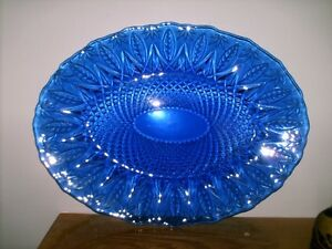 REDUCED Large Crystal Flowered Design Etched Fruit Bowl and More Sarnia Sarnia Area image 9