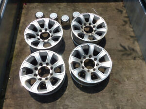 Roues / mags roulotte / fifth wheel 16x6