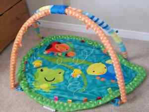 Plush Taggies play mat