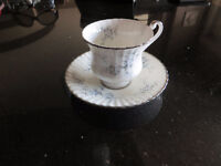 Paragon Bride's Choice China Cups and Saucers - 6 Available