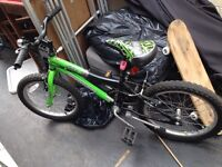 Boys 16 inch mountain bike