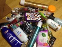 Joblot of make up and bath products !!!!!