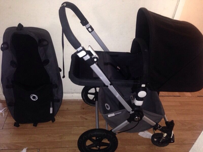 Amazing Bugaboo Cameleon 2 Black and Grey