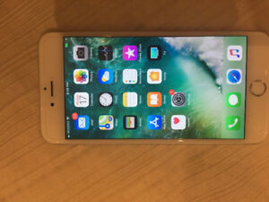 iphone 6 plus 64gb white Rogers mint 9.5/10