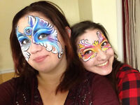 Face painting, Henna, Mascots, Characters