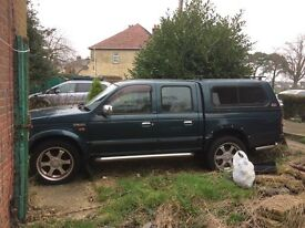 Ford Ranger XLT double cab 95000 miles