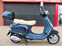 PIAGGIO VESPA LX 50 2 STROKE 2012 LOW MILES FDSH TOP BOX HPI WARRANTY FINANCE