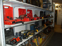 lots of cordless tools for sale