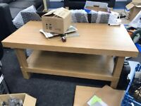 Coffee table with Shelf underneath Good Condition Can Deliver Locally for £5