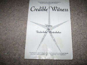Credible Witness-Timberlake Wertenbaker-Full length play text +