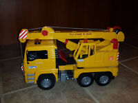 Bruder MAN Crane Truck- Good Condition