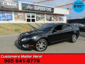 2012 Ford Fusion SEL  AWD V6 LEATH ROOF P/SEAT ALLOYS BT