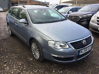 Volkswagen Passat 2.0TDI CR ( 140ps ) 2009 MY Highline FULL LEATHER LOW MILAGE