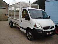 2009 VAUXHALL MOVANO LWB CAGED TRUCK 500 KG TAILIFT 3500 KG GVW 64750 MILES ONLY