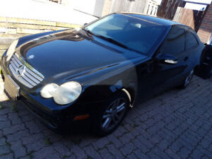 2004 Mercedes C230 Coupe 2dr W203 As-Is or Parts Car. $900. OBO