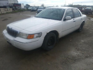 2002 MERCURY GRAND MARQUIS FOR PARTS@PICNSAVE WOODSTOCK