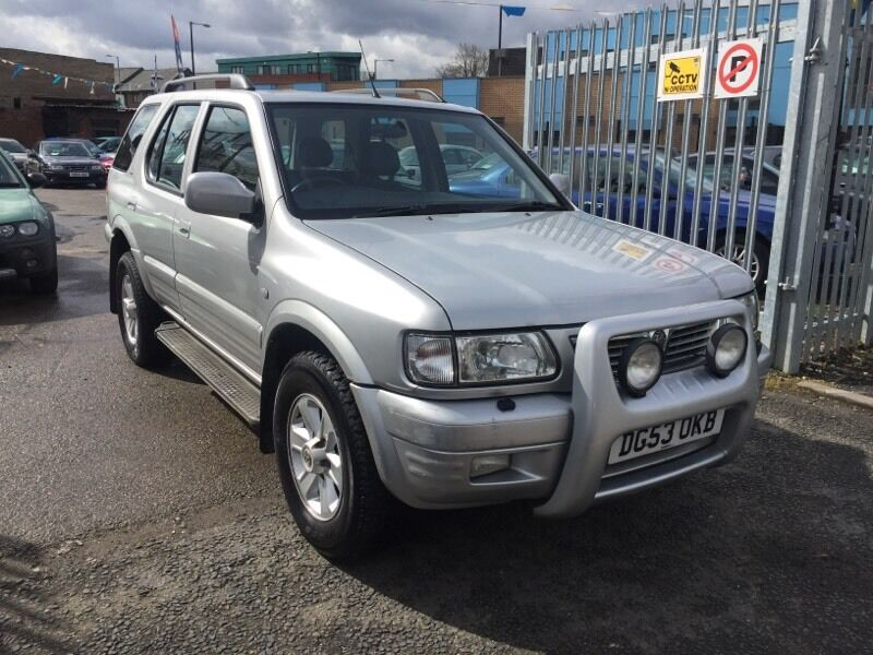 vauxhall frontera 2 0 dti 4x4 olympus suv diesel fdsh in longsight manchester gumtree. Black Bedroom Furniture Sets. Home Design Ideas