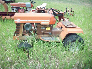 3 Massey Garden Tractors for sale