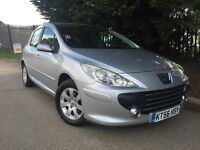 2007 Peugeot 307 1.4 76000 miles 12 months M.O.T