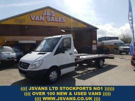 2011 61 MERCEDES-BENZ SPRINTER RECOVERY TRUCK 313 CDI EX FLEET LEASE COMMS PACK