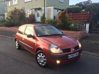 53 plate Renault Clio 1.2 extreme, 65k, new mot