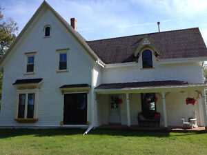 Furnished room available in adorable historic farmhouse
