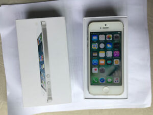 Iphone 5/16GB Silver&White color/unlocked