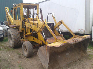 Case 680 Backhoe